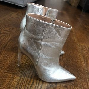 Silver Zara Boots - PRICE IS FIRM